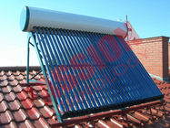 Roof Flat Solar Water Heater , Copper Pipe Solar Water Heater For Washing