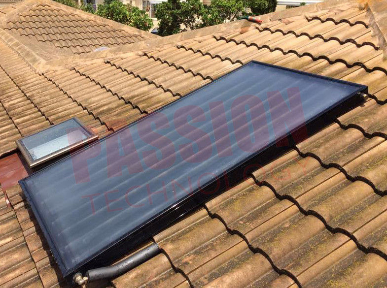 Hotel Solar Water Heater Modern Design High Pressure Flat Plate Solar Collector